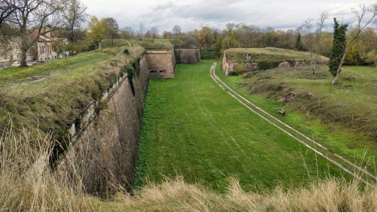 Neuf-Brisach - UNESCO classifies it as a world heritage site under the listing, The Fortifications of Vauban