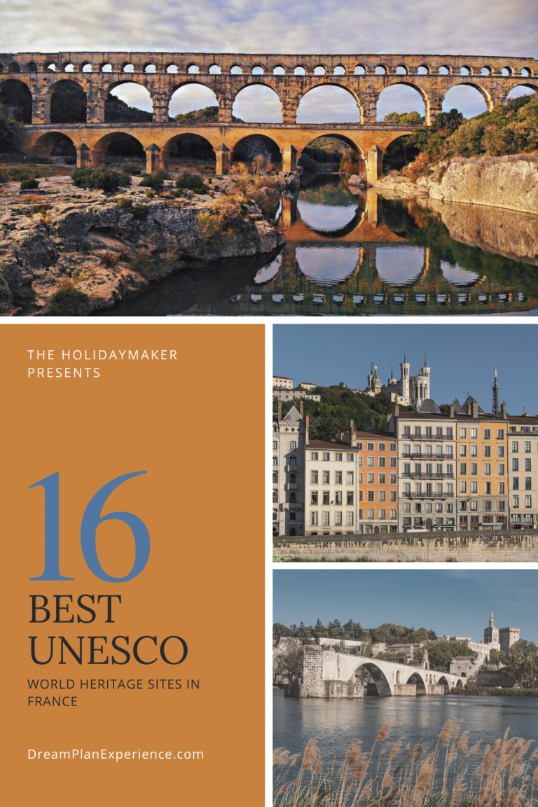 16 of the Best UNESCO World Heritage sites spread throughout France. #France