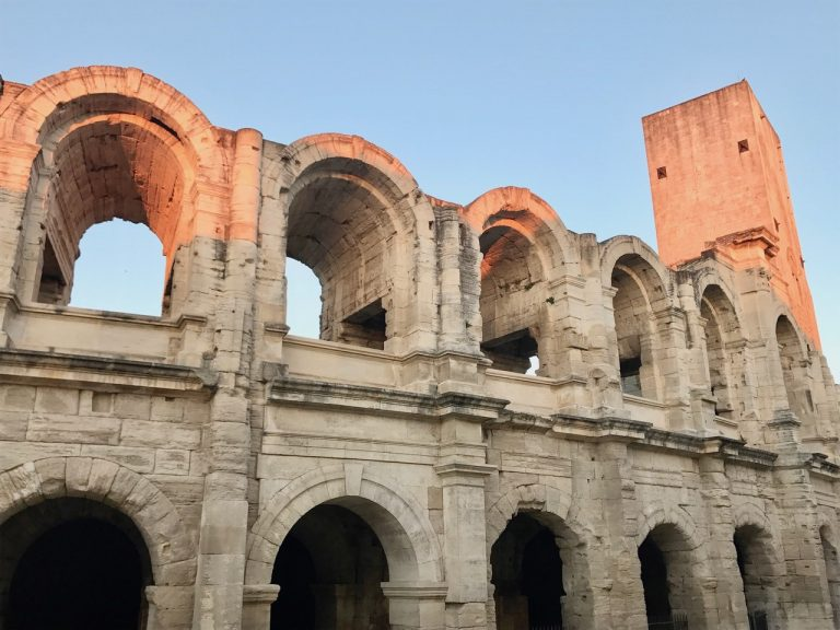 Arles, France - home to a number of wonderful examples of Roman monuments and architecture.