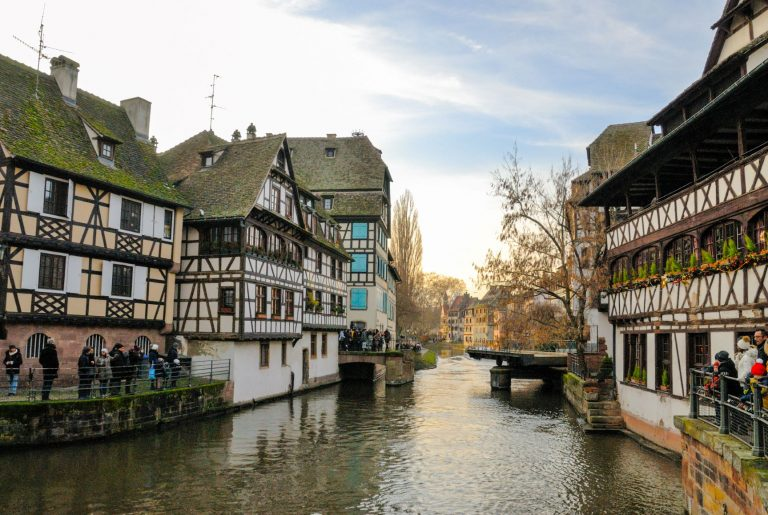 Strasbourg sits on the border of Germany and France has been part of both countries during its history and until today, you can still clearly see the influences of both France and Germany represented in the city