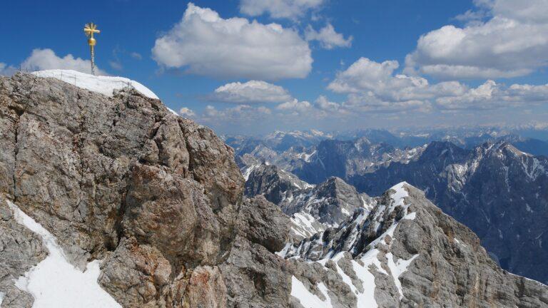 Visit Germany's highest peak, Zugspitze in Garmisch-Partnerkirchen.