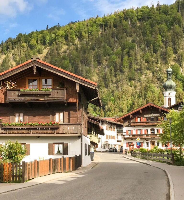Visit Oberammergau Germany a picturesque alpine town in the area of Garmisch-Partenkirchen