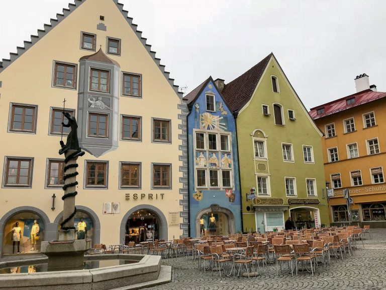 Fussen Germany, a picturesque German town at the end of the Romantic Road tour