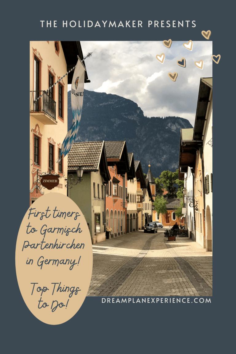 Visit the alpine town of Garmisch-Partenkirchen in Germany