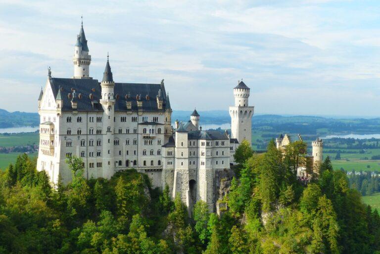 Nauschwanstein castle in Germany