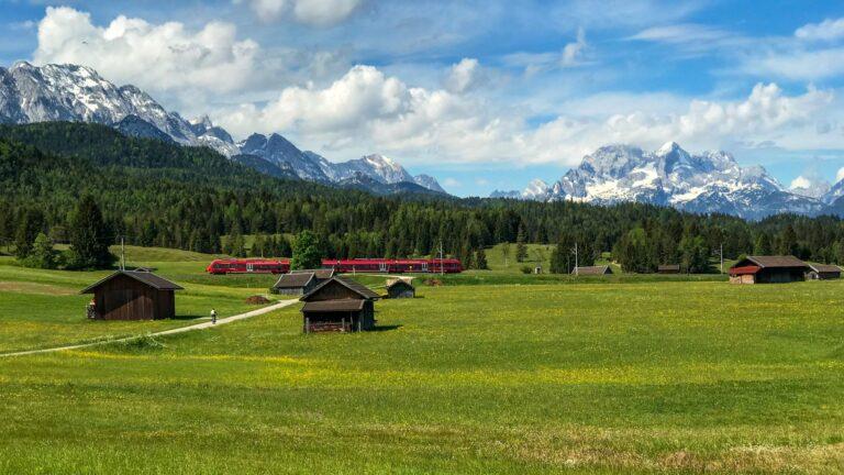 Visit one of Bavaria's must-see destinations - Garmisch-Partenkirchen in Germany