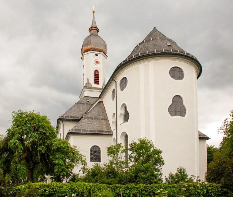 The pilgrimage church in Garmisch-Partnerkirchen, Germany