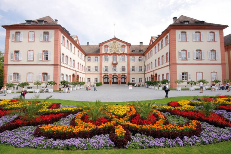 Mainau, or flower island, is the top rated attraction in Lake Constance region of Germany