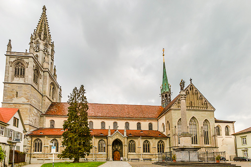 Konstanz Minster cathedral located in Konstanz Germany. The largest city in the Lake Constance Region.