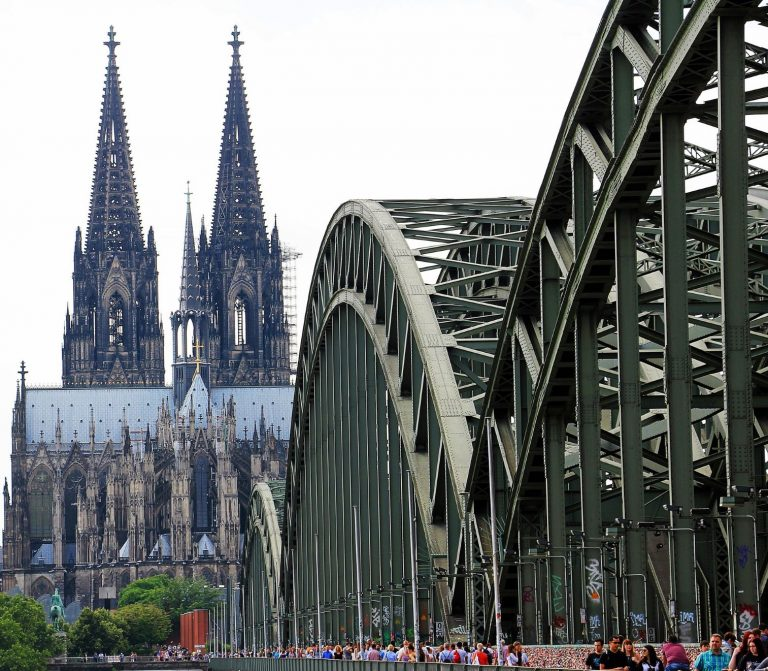 The Cologne Dom, located in the historic city of Cologne in Germany is a UNESCO World Heritage site