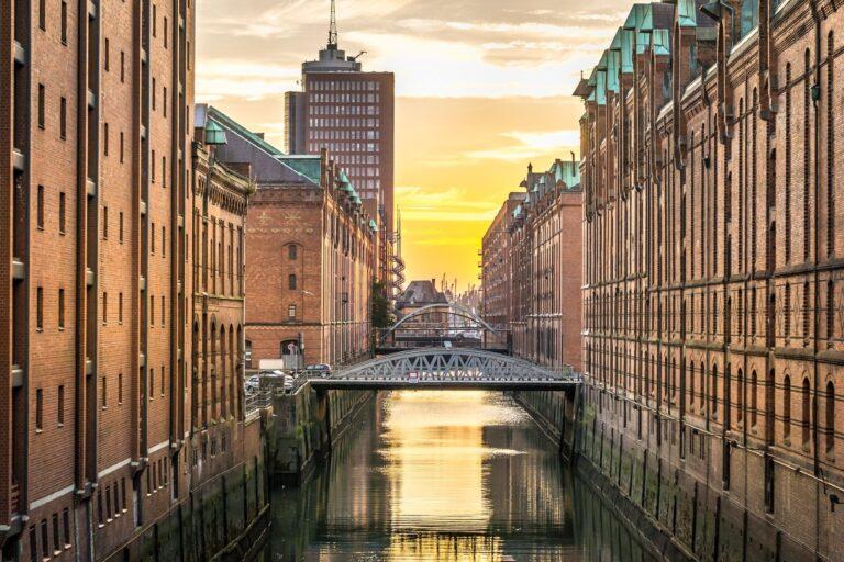 Speicherstadt and Kontorhaus District in Hamburg are an UNESCO World Heritage Site