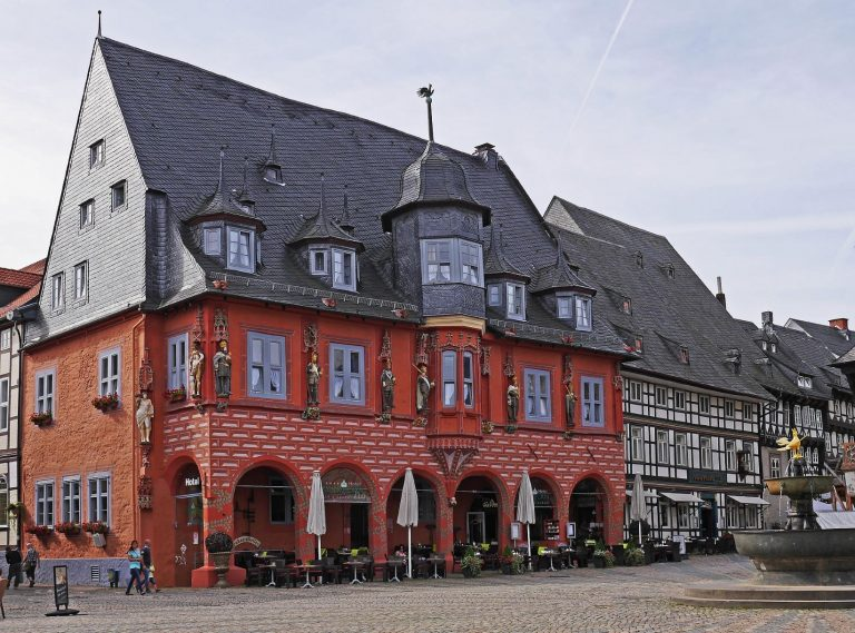 The historic city of Goslar in Germany is an UNESCO World Heritage site