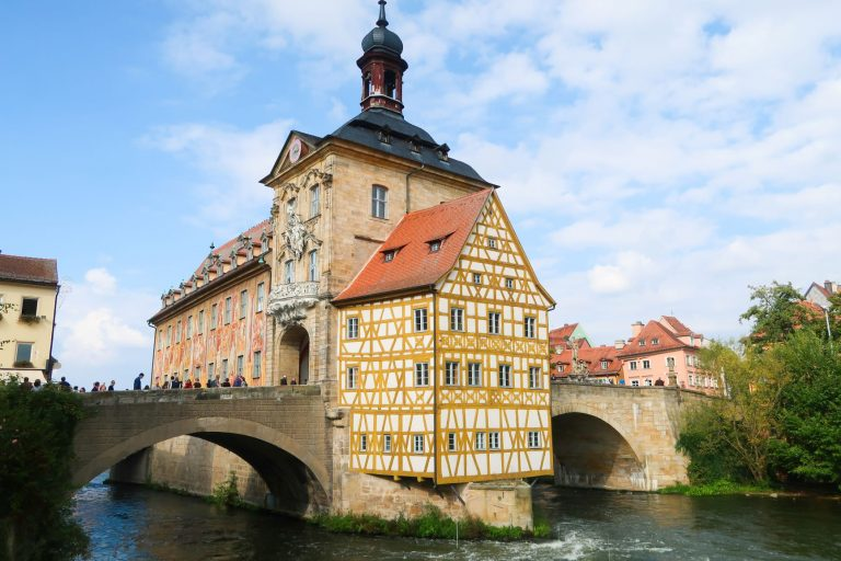 The beautiful historic town of Bamberg in Germany is a UNESCO World Heritage site