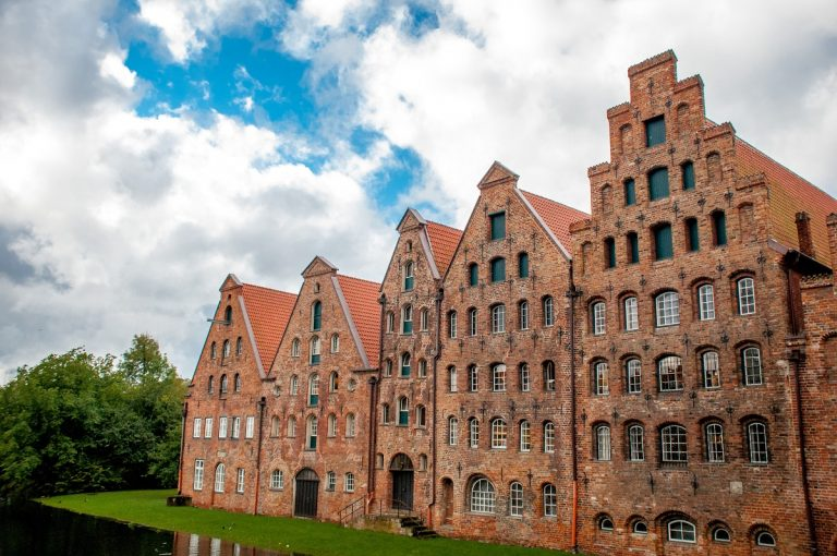 The historic city of Lubeck Germany, an UNESCO World Heritage site