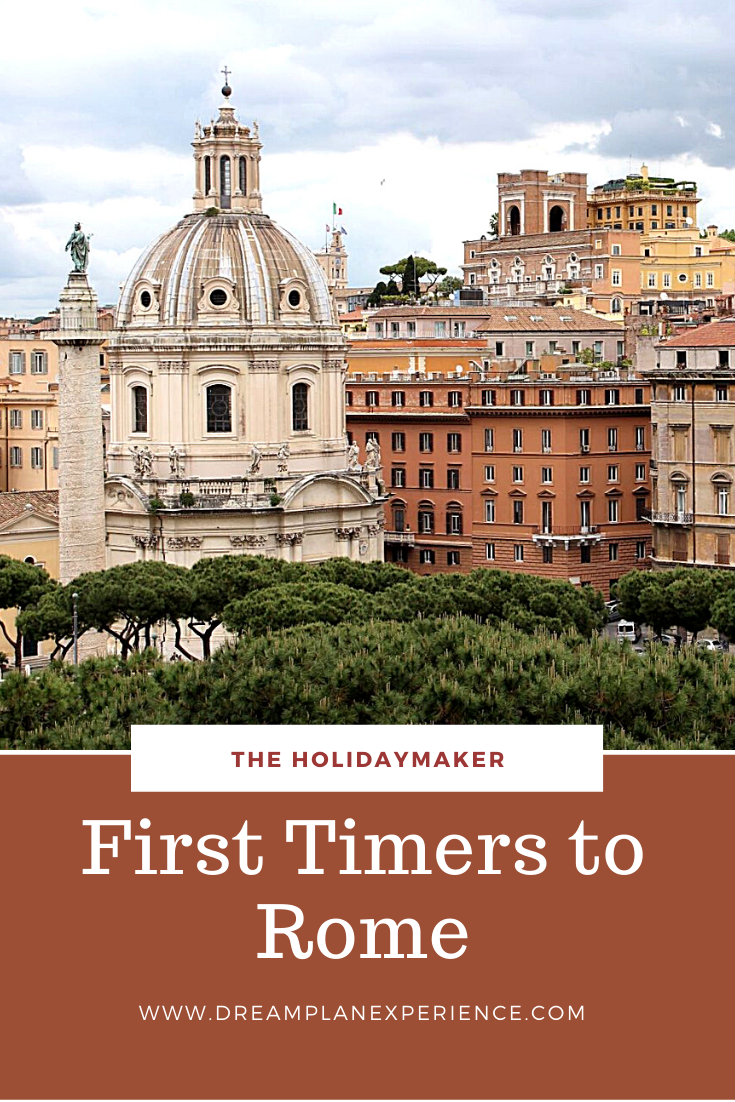 Visiting Rome, Italy for the first time? Here is your walking tour of all the top sites.