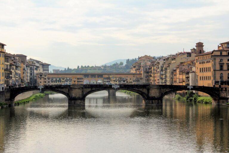 The beautiful Renaissance bridges of Florence