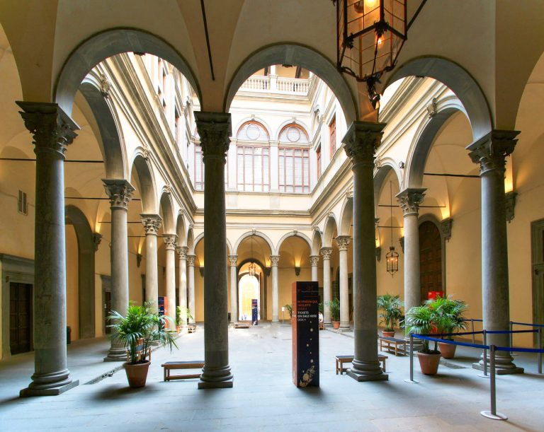 Palazzo Strozzi in Florence, Italy