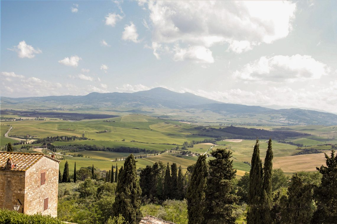 Visit Pienza, a lovely hilltop town in Tuscany