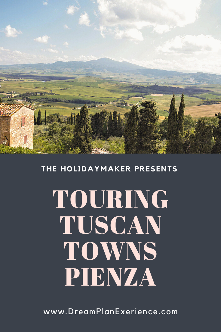 Pienza, Italy. This beautiful hilltop Tuscan town needs to go on your list.