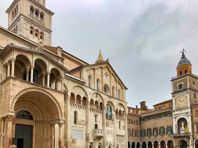 The city of Modena in north-central Italy's Emilia Romagna region is an UNESCO World Heritage Site.