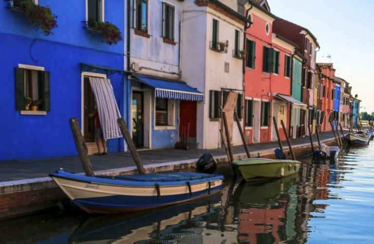 The romantic Venice, Italy is one of the UNESCO World Heritage sites.