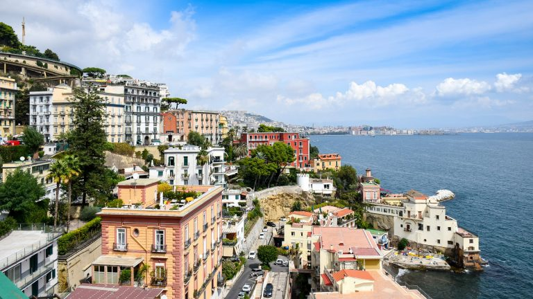 The vibrant city of Naples, Italy is an UNESCO World Heritage site.