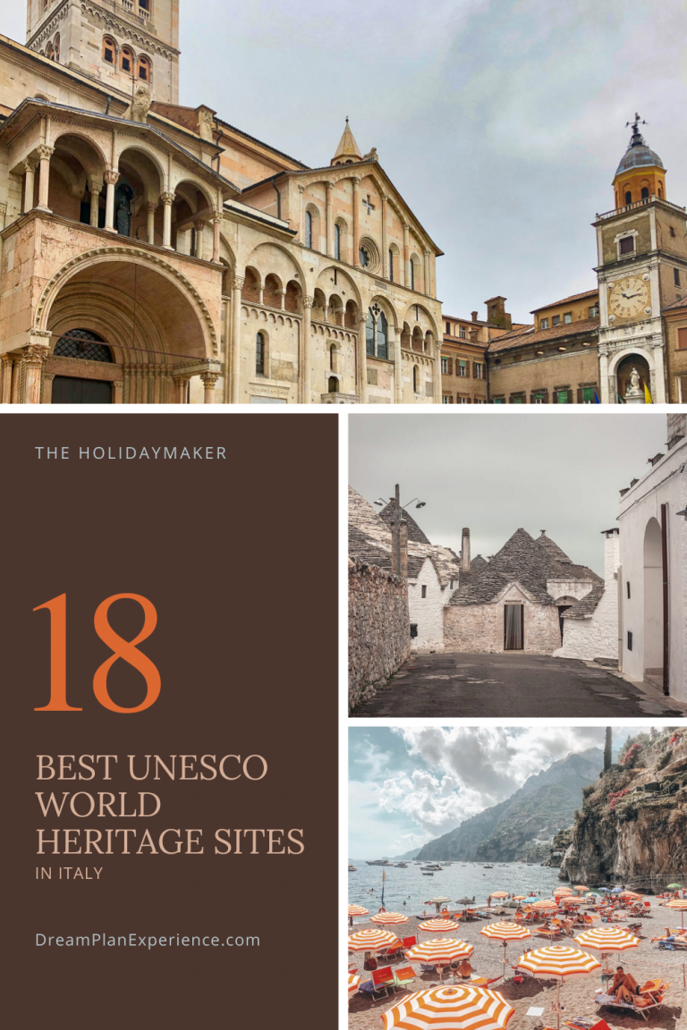 Check out the 18 Best UNESCO World Heritage Sites in Italy