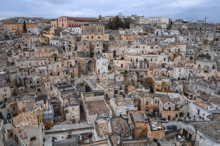 Located in the southern region of Basilicata of Italy, Matera is a sight to behold!