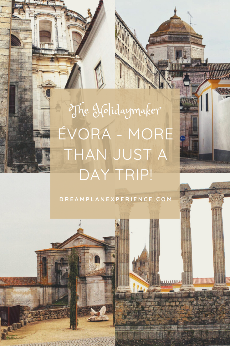 Visit the beautiful city of Evora, Portugal. It is an UNESCO World Heritage city due to its many significant monuments. Only 90 minutes from Lisbon