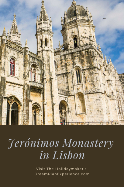 Jerónimos Monastery in Lisbon. One of the Seven Wonders in Portugal. #Lisbon