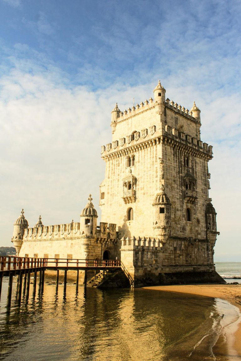 Visit the Belem Tower in Lisbon, Portugal an UNESCO World Heritage site