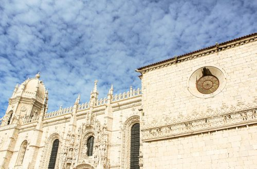 Visit one of Portugal's Seven Wonders and also a UNESCO World Heritage Site, Jeronimos Monastery in Lisbon