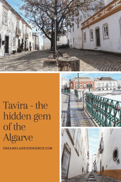 Visit Tavira, Portugal, a pretty town close to the Spanish border.