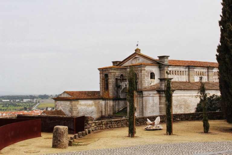 Évora, the capital city of the Alentejo region in Portugal. This beautifully historic city is an UNESCO World Heritage site due to its well-preserved old town center and having so many significant monuments.