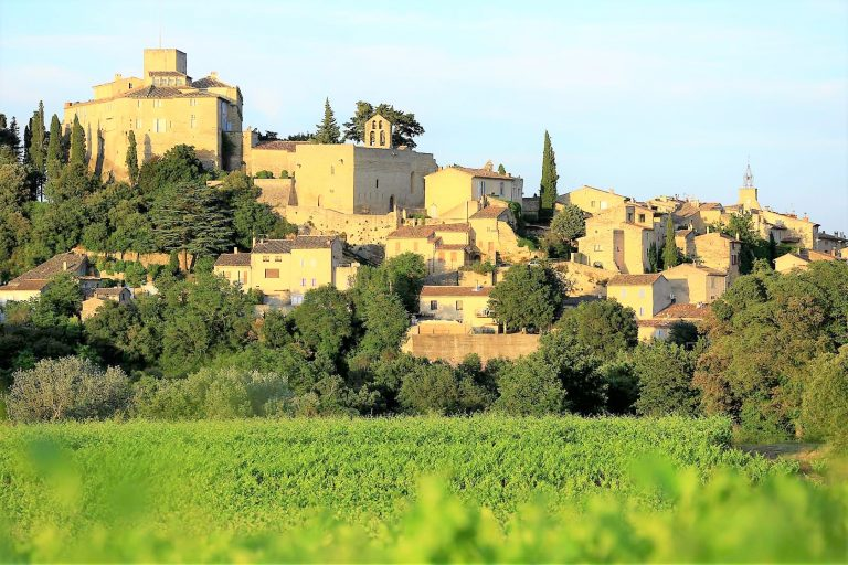 Ansouis, Provence, France. This is very tiny, yet pretty village, has a fair number of ancient picturesque streets perfect for wandering.