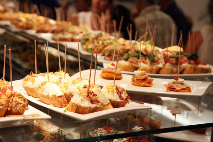 A merienda (or snack) is when you want to hit a Tapas bar in Spain