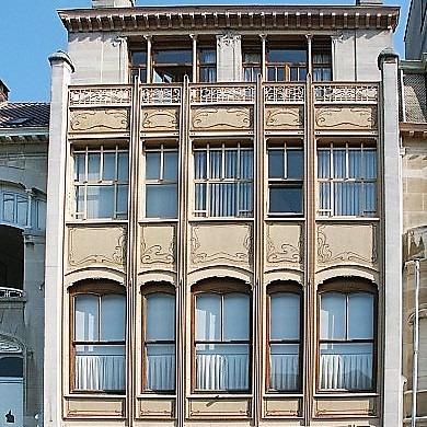 Hotel van Eetvelde, found in Brussels Belgium.