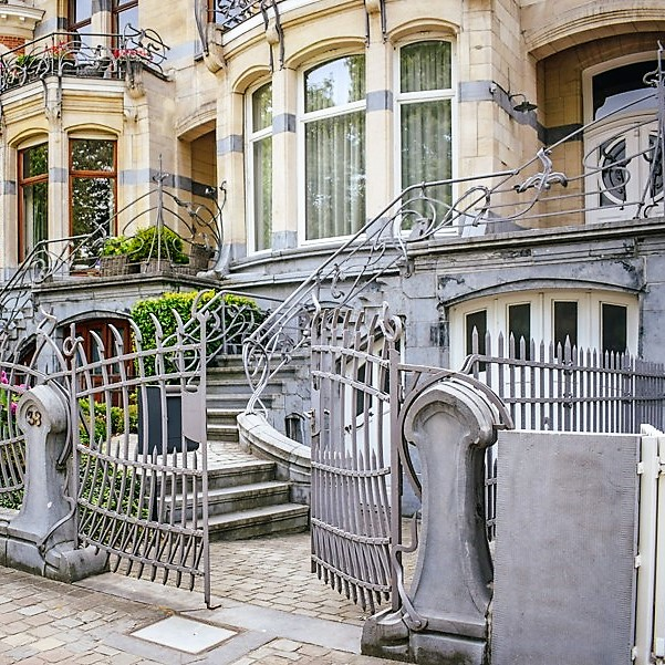 An Architectural Walking Tour in Brussels